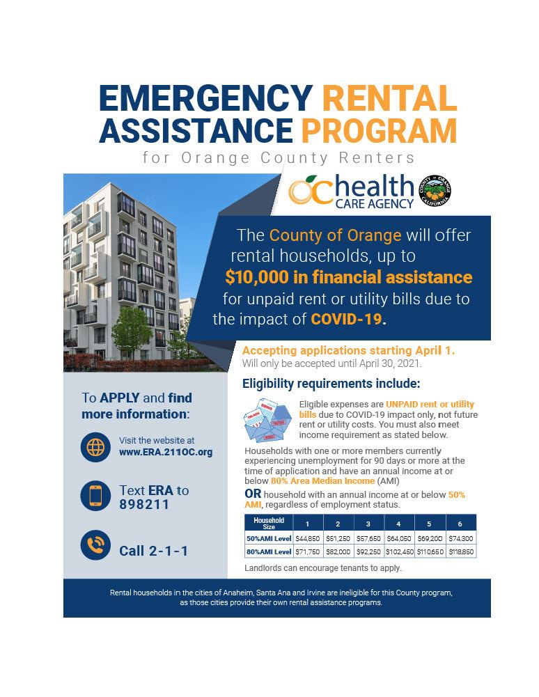 How To Apply For Rental Assistance In California 2021