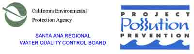 California Environmental Protection Agency, Santa Ana Regional Water Quality Control Board logos